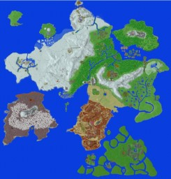 the 2 kingdoms Minecraft Map & Project