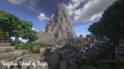 Uagadou School of Magic [Harry Potter] Minecraft Project