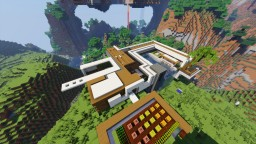 Modern Cosy house Minecraft Map & Project