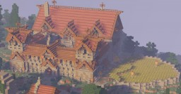 Small Medievam Manor Minecraft Map & Project