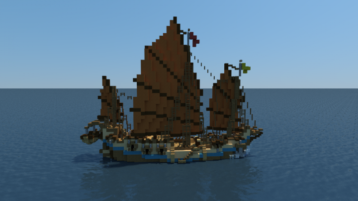 ship collection minecraft project