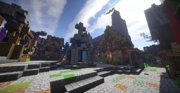 ●Carcassonne●Medieval City and big Castle● Minecraft Project