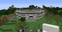 Cool Black and White Arena Minecraft Project