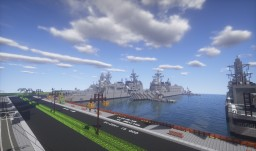 "Naval port ""Maiminato"" Minecraft Map & Project"