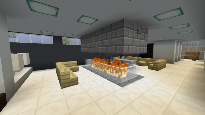 360 basement fireplace
