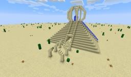 Schematic: Desert Ender Temple Minecraft Map & Project