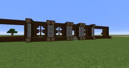 Dark Oak Wooden Dream Home - Contest Entry Minecraft Project