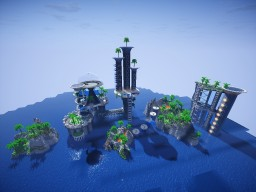 The Awesome Hub for your server! Minecraft Project