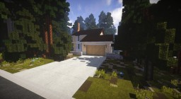 1980's Lake/Mountain House. TRS Realistic Build Series Minecraft Map & Project