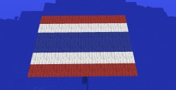 Thailand Flag War Chest Hunter Minecraft Map & Project
