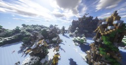 ●Dinant●Winter Castle and little City● Minecraft Project