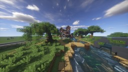 Water Mill House - (Behind the Picket Fence) Minecraft Map & Project