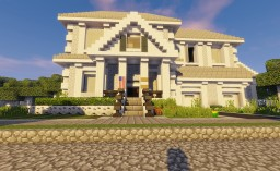 Magnolia House Minecraft