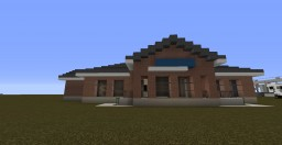 Realistic Post Office Minecraft Project