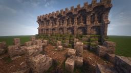 Castle battlements / Conquest Reforged Minecraft