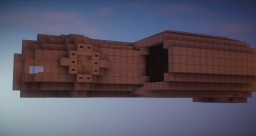 Space Ship Unit A1 Minecraft Project