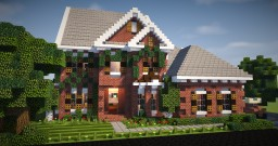 Brick Mansion 4 Minecraft Map & Project