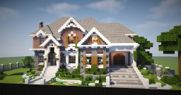 Large Mansion Minecraft