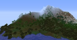 Creative Island Mountains Map Minecraft Project
