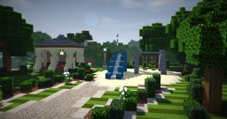 Riverside Park + Pavilion Minecraft Map & Project