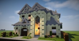Sandstone House 2 Minecraft