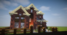Brick House 1 Minecraft