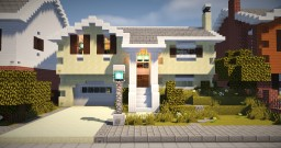 Split Level House 2 Minecraft Map & Project
