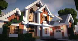 Brick Mansion 5 Minecraft Project