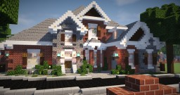 Brick Mansion 6 Minecraft Map & Project