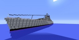 USS Cleveland Minecraft Map & Project