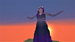 Goddess Statue Minecraft Project