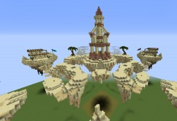 Bedwars Map - Sandstorm Minecraft Project
