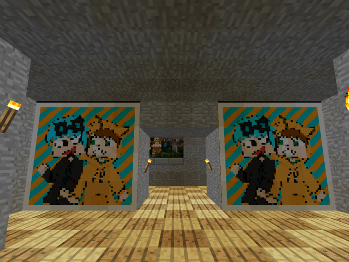 Stampy and Dan