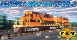 [1:5 Scale] EMD GP39-2 PNWR Portland and Western diesel-electric locomotive Minecraft Project