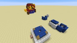 Burning Map- Mario For Pat And Jen Minecraft Project