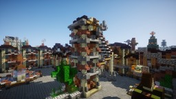 Industrial Area Minecraft Project