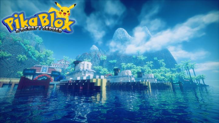 PikaBlox (v1 10 2) (v5 1 2) FREE SHINY PIKACHU! Minecraft Server