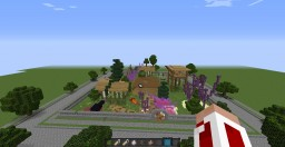 """Corupted village-Behind the Picket Fence"""" - Solo Project Contest Minecraft Map & Project"""