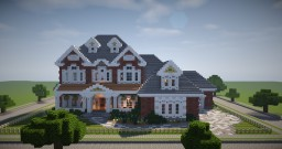 Suburban house | Behind The Fence Minecraft