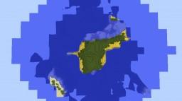 Concrete Island! Minecraft Project