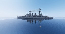 British Battlecruiser HMS HOOD Minecraft Project