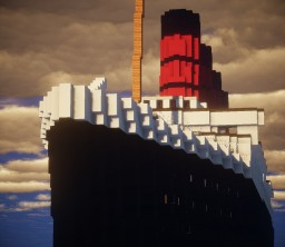 The RMS Lusitania Minecraft Map & Project