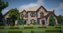 Large Mansion 2 Minecraft Map & Project