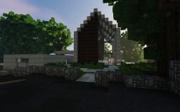 Modern Hillside Cottage Minecraft Project