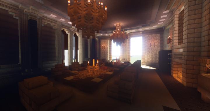 Le Palais Du Ciel - Royal Dining Room