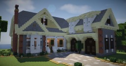American Suburban House 1 Minecraft Map & Project