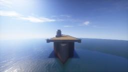 Yorktown class Fleet Carrier Minecraft Project