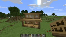 Redstone House #1!   Wood House Minecraft Project
