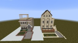 Brooklyn Urban Houses Minecraft Map & Project