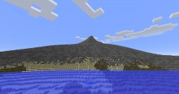 The Island Of The Mountain Minecraft Map & Project